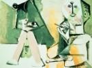 Pablo Picasso (1881-1973)  -  Le peintre et son - Postkaart -  A8882-1