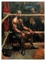Isaac Israels (1865-1934)  -  De negerbokser - Postkaart -  A8963-1