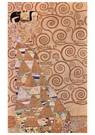 Gustav Klimt (1862-1918)  -  Entwurf für den Wandfries im Palais Stoclet in Brüssel, Deta - Postkaart -  A89681-1