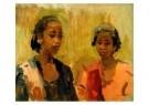 Isaac Israels (1865-1934)  -  Javaanse dame en haa - Postkaart -  A8968-1