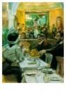 Isaac Israels (1865-1934)  -  Café in Parijs - Postkaart -  A8969-1
