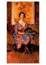 Isaac Israels (1865-1934)  -  Vrouw, zittende - Postkaart -  A8973-1