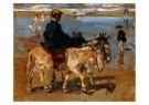 Isaac Israels (1865-1934)  -  Ezeltje rijden aan - Postkaart -  A8974-1