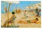 Isaac Israels (1865-1934)  -  Lido, Venetid - Postkaart -  A8977-1