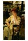 Isaac Israels (1865-1934)  -  Meisje in Hyde park - Postkaart -  A8978-1