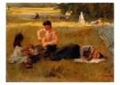 Isaac Israels (1865-1934)  -  Picknick in het Bois - Postkaart -  A8980-1