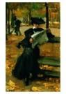 Isaac Israels (1865-1934)  -  Bois de Boulogne - Postkaart -  A8981-1