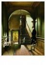 Pieter Christoffel Wonder 1777 -  Het trappenhuis - Postkaart -  A9044-1