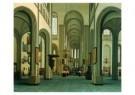 Hendrick Cornelisz van Vliet  -  Interieur Dom - Postkaart -  A9048-1