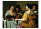 Jan van Bijlert (1598-1671)  -  Het trekken aan - Postkaart -  A9059-1