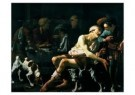 H. ter Brugghen 1588-1629)  -  De rijke man - Postkaart -  A9067-1