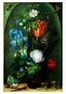 Roelant Saverij (1576-1639)  -  Bloemstuk met twee hagedissen, 1603 - Postkaart -  A9069-1