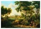 Jacob de Heusch (1656-1701)  -  Landschap waterva - Postkaart -  A9080-1