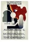 A.M.Cassandre(1901-1968)  -  Rai Automobiel en Mo - Postkaart -  A9096-1