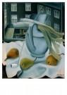 Ger Langeweg (1891-1970)  -  Stilleven prei, pe - Postkaart -  A9107-1