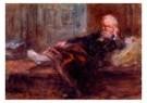 Jozef Israels (1824-1911)  -  Zelfportret verbonde - Postkaart -  A9140-1