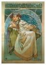 Alphons Maria Mucha (1860-1939 -  Prinses Hyacintha - Postkaart -  A9160-1