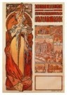 Alphons Maria Mucha (1860-1939 -  Poster for the Austra - Postkaart -  A9174-1