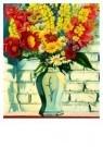 Charlie Toorop (1891-1955)  -  Vaas met bloemen tegen muur, 1951 - Postkaart -  A9201-1