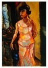 Charlie Toorop (1891-1955)  -  Dame in avondtoilet - Postkaart -  A9202-1