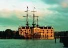 Scheepvaart Museum, Amsterdam  -  VOC Schip Adam - Postkaart -  A9222-1