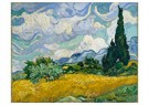 Vincent van Gogh (1853-1890)  -  Wheat Field with Cypresses, 1889 - Postkaart -  A92252-1