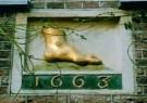 -  Gevelsteen vergul.voet - Postkaart -  A9261-1