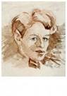 Theo van Doesburg (1883-1931)  -  Zelfportret, 1905 - Postkaart -  A92690-1