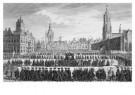 Simon Fokke (1712-1784)  -  Begravenis Willem IV - Postkaart -  A9294-1