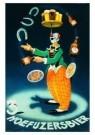 Bernard Leemker (1899-1990)  -  3 Hoefijzersbier - Postkaart -  A9298-1
