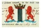Delft  -  Gemeentewapen Delft - Postkaart -  A9309-1