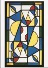 Theo van Doesburg (1883-1931)  -  Dans I (in primaire kleuren), 1917 - Postkaart -  A9329-1