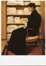 Theo Molkenboer (1871-1920)  -  Moeder bij de linnenkast, 1894-1895 - Postkaart -  A9362-1