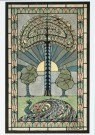 Jan Kreunen (1892-1918)  -  Ontwerp voor glas-in-lood-raam, ca. 1913/14 - Postkaart -  A9364-1