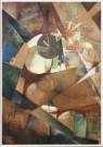 Kurt Schwitters (1887-1948)  -  Dass grosse Ich-Bild, 1919 - Postkaart -  A9369-1