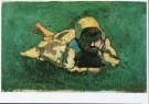 Theo van Doesburg (1883-1931)  -  Petite paysanne hollandaise, 1913 - Postkaart -  A9377-1