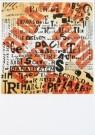 Theo van Doesburg (1883-1931)  -  Affiche van een Dada-tentoonstelling - Postkaart -  A9383-1