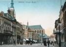 Anoniem,  -  Grote Markt, Breda, ca. 1910 - Postkaart -  A9391-1