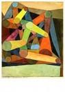 Paul Klee (1879-1940)  -  Geöffneter Berg, 1914 - Postkaart -  A94764-1