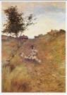 William H.Singer (1868-1943)  -  Landschap met schapen op Monhegan eiland, 1901 - Postkaart -  A9515-1