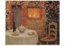 Henri le Sidaner (1862-1939)  -  Gedekte tafel - Postkaart -  A9526-1