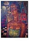 Reimond Kimpe (1885-1970)  -  Damesportret Middelburg - Postkaart -  A9534-1