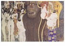 Gustav Klimt (1862-1918)  -  Die feindlichen Gewalten, 1902 - Postkaart -  A95499-1