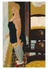 Ferdinand Erfmann (1901-1968)  -  Zelfportret slaapka - Postkaart -  A9602-1