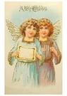 A.N.B.  -  Twee kerstengelen - Postkaart -  A96058-1
