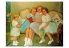 Theo Swagemakers (1898-1994)  -  4 prinsessen - Postkaart -  A9613-1