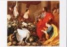 Utrecht, van / Rombouts, Adria -  Christus in het huis van Martha en Maria, ca, 1635 - Postkaart -  A9625-1