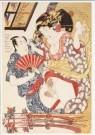 Utagawa Kunisada (1786-1864)  -  Haru no tanoshimi - de geneugten van de lente, jap - Postkaart -  A9637-1