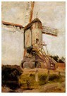 Mondriaan (1872-1944)Mondrian  -  Post Mill at Heeswijk, 1904 - Postkaart -  A96440-1