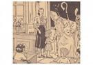 Anonymus  -  Sinterklaas op schoolbezoek - Postkaart -  A96583-1